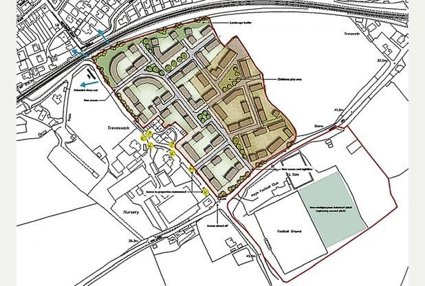 Hayle Town Council to hear application for 138 homes tonight
